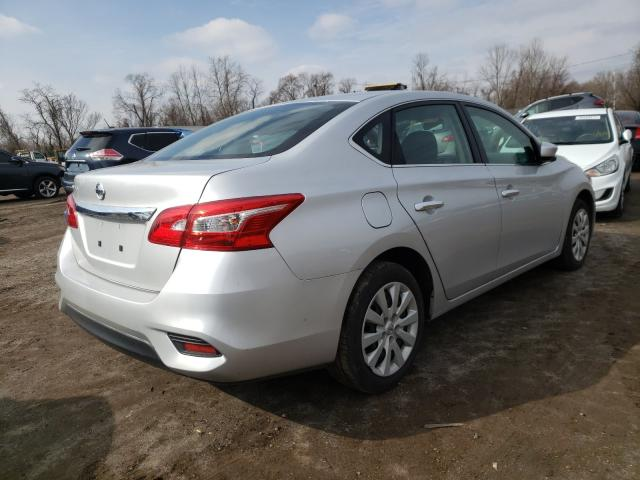 2018 NISSAN SENTRA S - Right Rear View