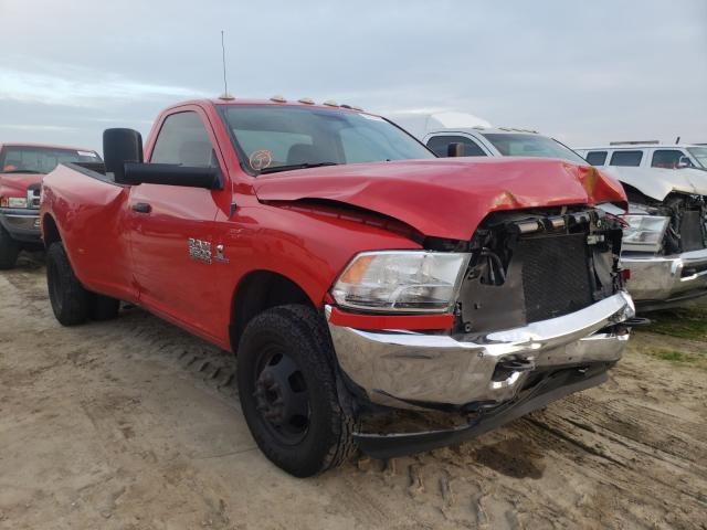 Salvage cars for sale from Copart Fresno, CA: 2017 Dodge RAM 3500 ST