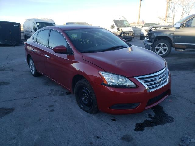 Salvage cars for sale from Copart Anthony, TX: 2014 Nissan Sentra S