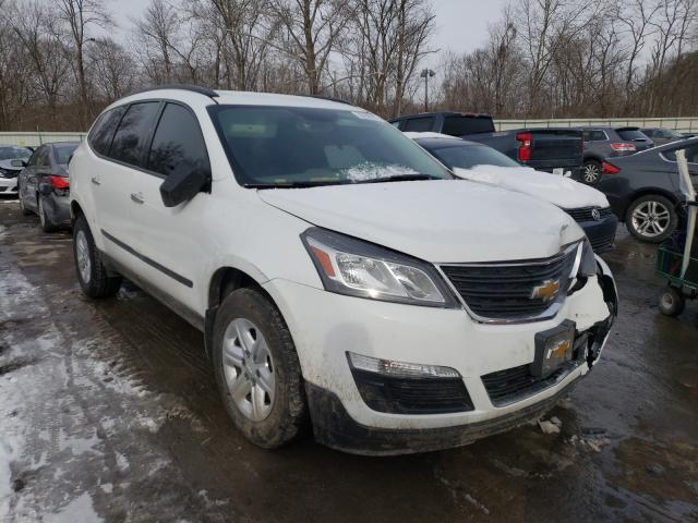 Salvage cars for sale from Copart Ellwood City, PA: 2016 Chevrolet Traverse L