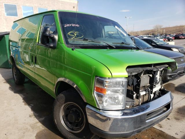 Salvage cars for sale from Copart Littleton, CO: 2014 Ford Econoline