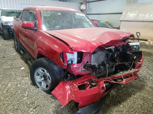 Salvage cars for sale from Copart Houston, TX: 2018 Toyota Tacoma DOU
