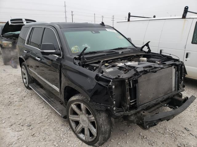 Salvage cars for sale from Copart Haslet, TX: 2015 Cadillac Escalade P