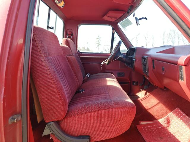 1988 FORD F150 - Left Rear View