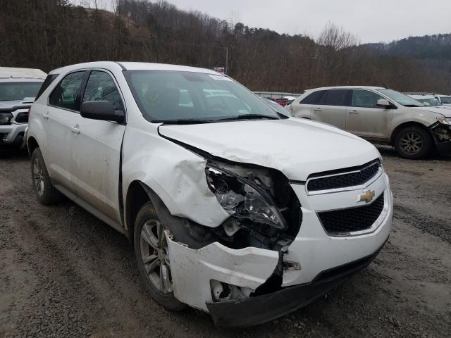 Salvage cars for sale from Copart Hurricane, WV: 2014 Chevrolet Equinox LS