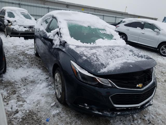 Salvage 2018 CHEVROLET CRUZE - Small image. Lot 33257451