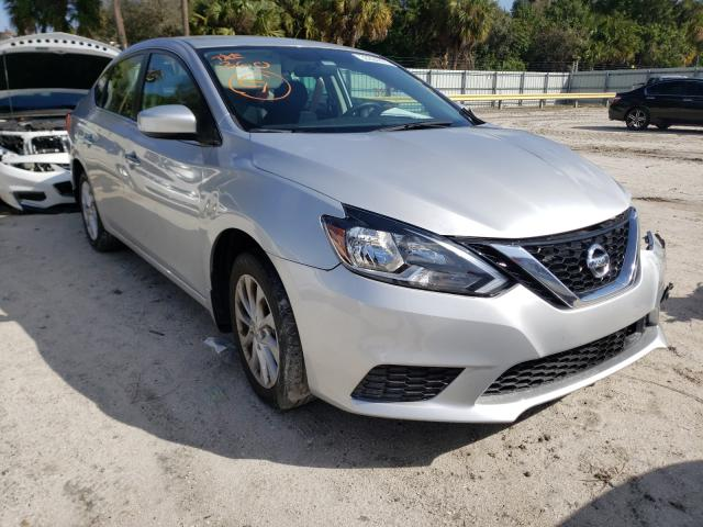 2019 NISSAN SENTRA S - Left Front View