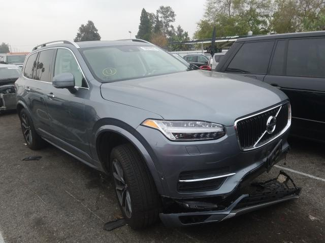 Salvage cars for sale from Copart Van Nuys, CA: 2019 Volvo XC90 T6 MO