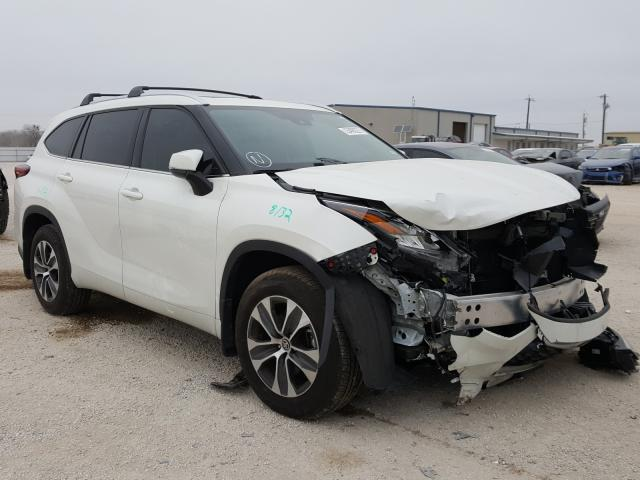 Salvage cars for sale from Copart San Antonio, TX: 2020 Toyota Highlander