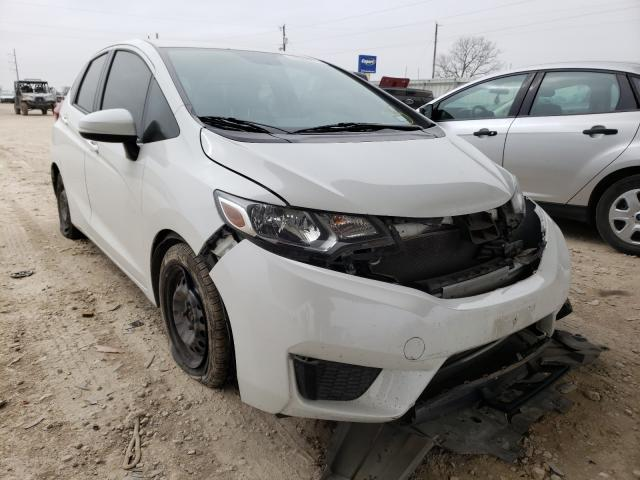 Salvage cars for sale from Copart Temple, TX: 2017 Honda FIT LX