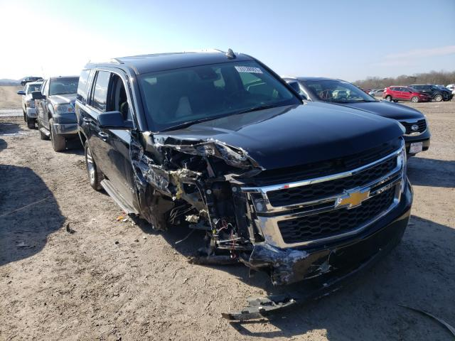 Salvage cars for sale from Copart Madisonville, TN: 2020 Chevrolet Tahoe C150
