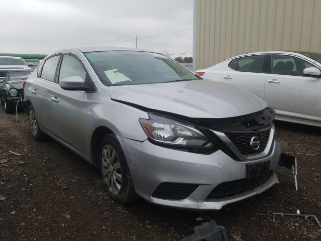 Nissan Sentra S salvage cars for sale: 2017 Nissan Sentra S