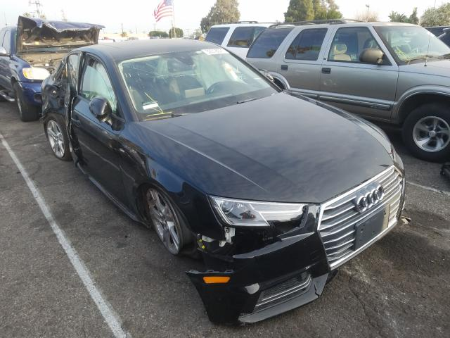 Salvage 2018 AUDI A4 - Small image. Lot 32318021