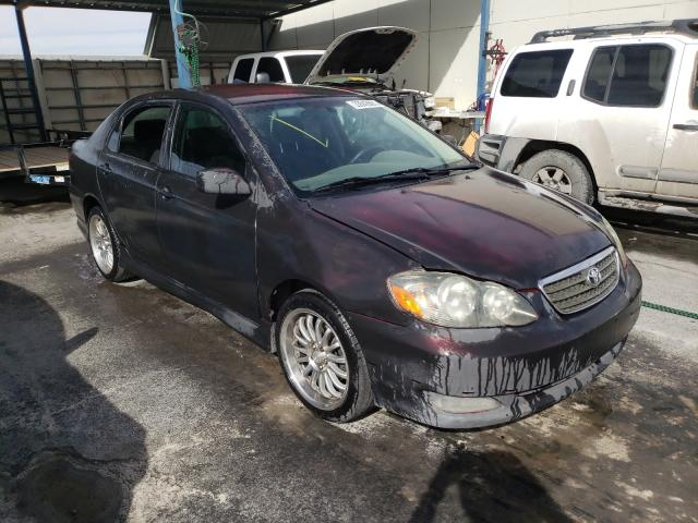 Salvage cars for sale from Copart Anthony, TX: 2006 Toyota Corolla CE
