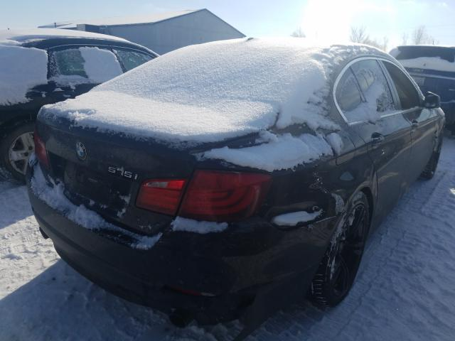 2011 BMW 535 XI - Right Rear View