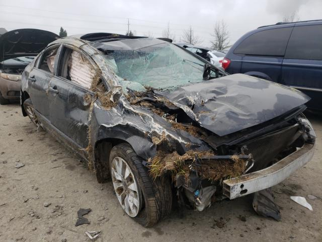Salvage cars for sale from Copart Eugene, OR: 2010 Honda Civic EX