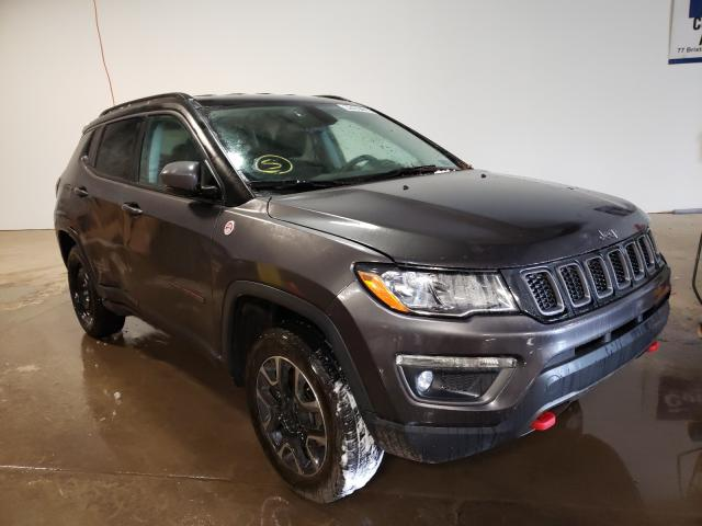 Salvage cars for sale from Copart Chalfont, PA: 2020 Jeep Compass TR