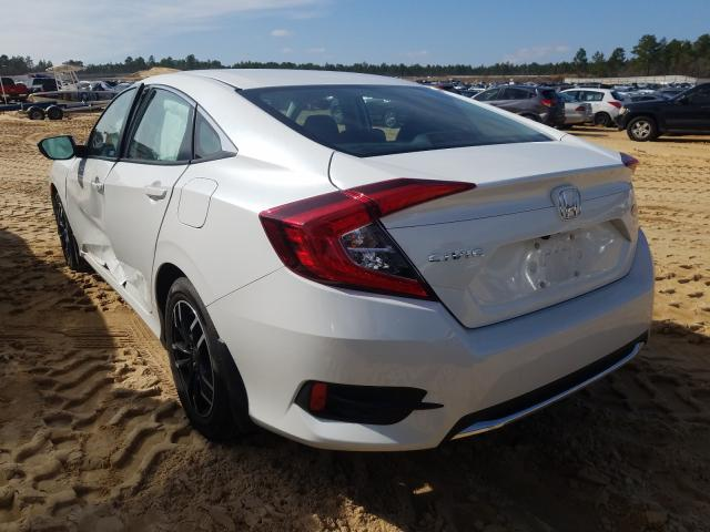 2020 HONDA CIVIC LX - Right Front View