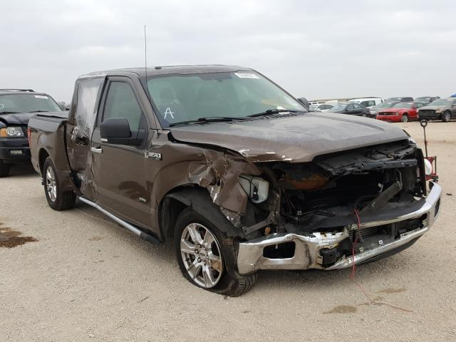Salvage cars for sale from Copart San Antonio, TX: 2015 Ford F150 Super