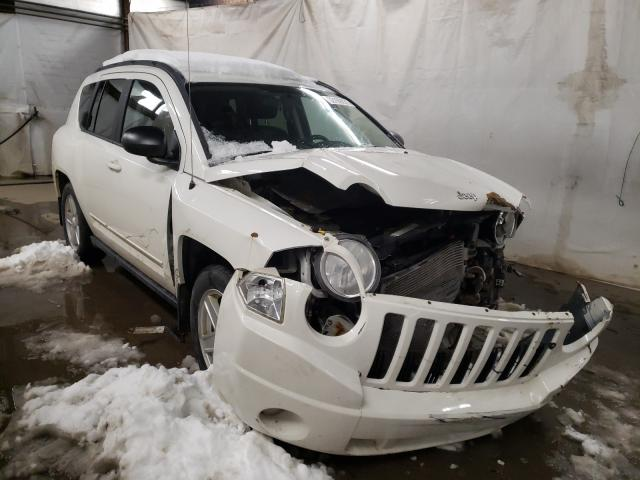 Salvage cars for sale from Copart Ebensburg, PA: 2010 Jeep Compass