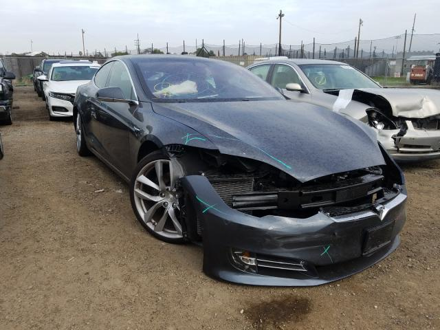 Salvage cars for sale from Copart San Martin, CA: 2017 Tesla Model S