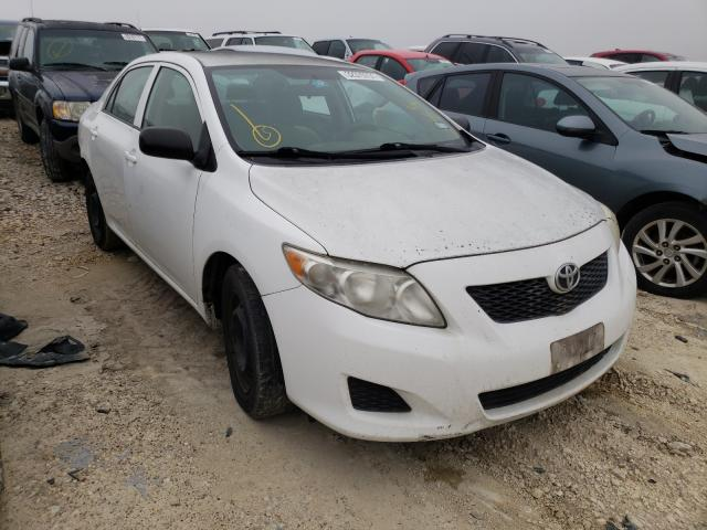Salvage cars for sale from Copart Temple, TX: 2010 Toyota Corolla BA