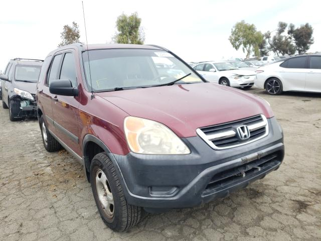Salvage cars for sale from Copart Martinez, CA: 2003 Honda CR-V LX