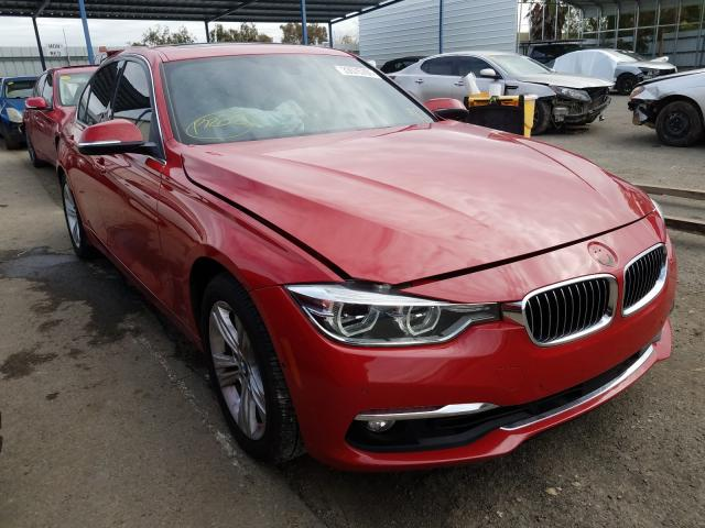 Salvage cars for sale from Copart Martinez, CA: 2016 BMW 328 I Sulev