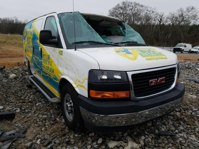 Salvage cars for sale from Copart Cartersville, GA: 2017 GMC Savana G25