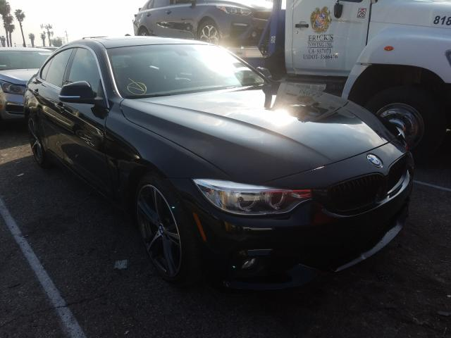 Salvage cars for sale from Copart Van Nuys, CA: 2019 BMW 430I Gran Coupe