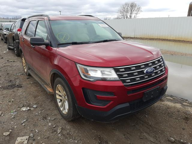 Salvage cars for sale from Copart Montgomery, AL: 2017 Ford Explorer