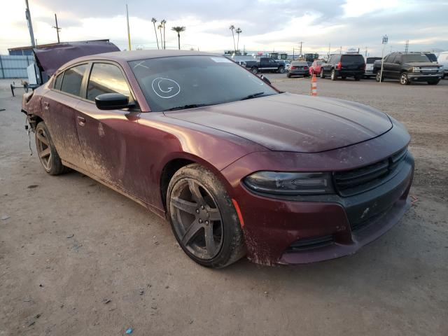 Salvage 2017 DODGE CHARGER - Small image. Lot 33296121