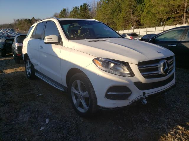 Salvage cars for sale from Copart Gainesville, GA: 2016 Mercedes-Benz GLE 350