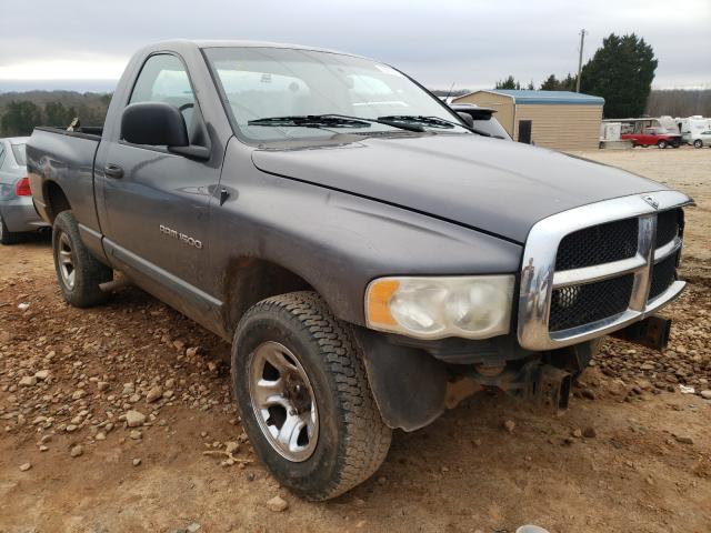 Salvage cars for sale from Copart China Grove, NC: 2004 Dodge RAM 1500 S