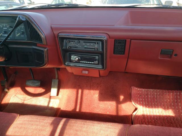 1988 FORD F150 - Odometer View