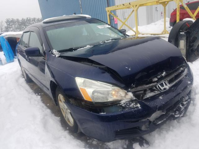 Salvage cars for sale from Copart Windsor, NJ: 2006 Honda Accord EX