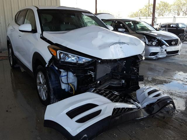 Salvage cars for sale from Copart Homestead, FL: 2019 Hyundai Tucson SE