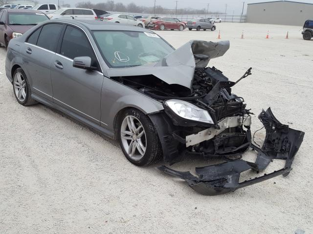 Salvage cars for sale from Copart San Antonio, TX: 2012 Mercedes-Benz C 250