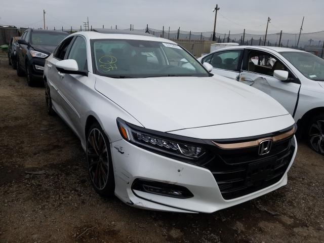 Salvage cars for sale from Copart San Martin, CA: 2020 Honda Accord EXL