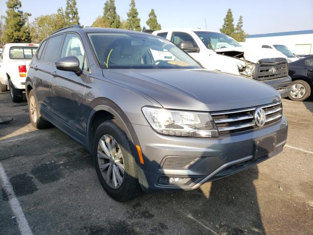 Salvage cars for sale from Copart Rancho Cucamonga, CA: 2018 Volkswagen Tiguan S