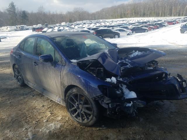 Salvage cars for sale from Copart West Warren, MA: 2020 Subaru WRX Premium