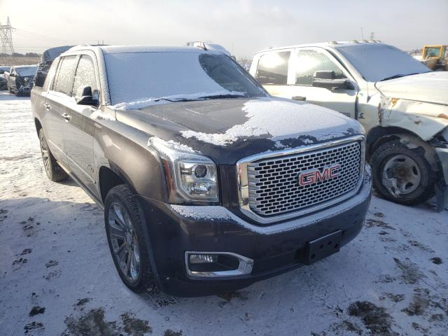 Salvage cars for sale from Copart Billings, MT: 2016 GMC Yukon XL D