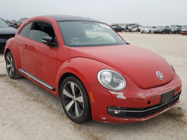 Salvage cars for sale from Copart San Antonio, TX: 2013 Volkswagen Beetle Turbo