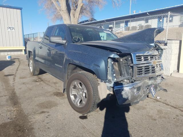 Salvage trucks for sale at Albuquerque, NM auction: 2014 Chevrolet Silverado