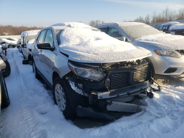 Salvage cars for sale from Copart Angola, NY: 2019 Chevrolet Equinox LS