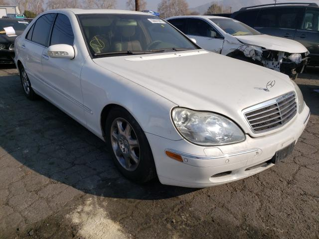 Salvage cars for sale from Copart Colton, CA: 2001 Mercedes-Benz S 500