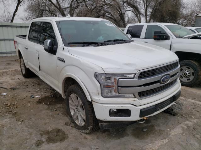 Salvage cars for sale from Copart Corpus Christi, TX: 2020 Ford F150 Super