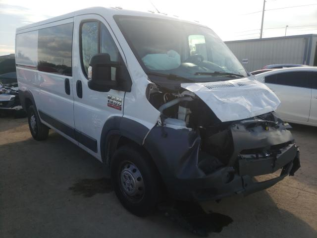 Salvage cars for sale from Copart Riverview, FL: 2018 Dodge RAM Promaster