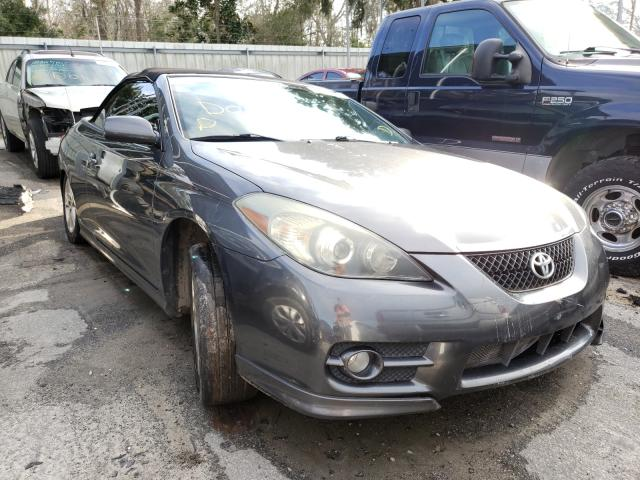 Salvage cars for sale from Copart Savannah, GA: 2007 Toyota Camry Sola