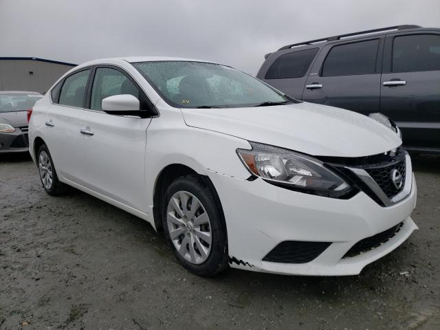 Salvage cars for sale from Copart Spartanburg, SC: 2018 Nissan Sentra S